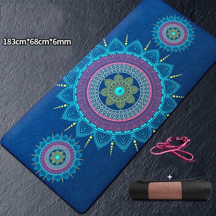 "72""x39""x8mm Large Non-Slip Yoga Mat"
