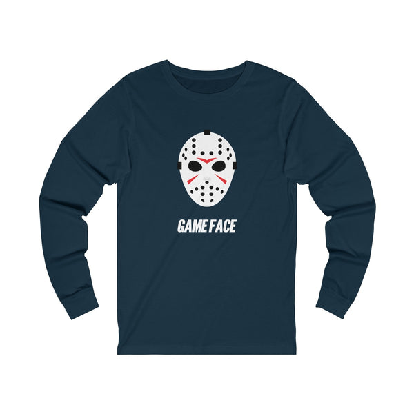 Game Face Hockey Unisex Jersey Long Sleeve Tee