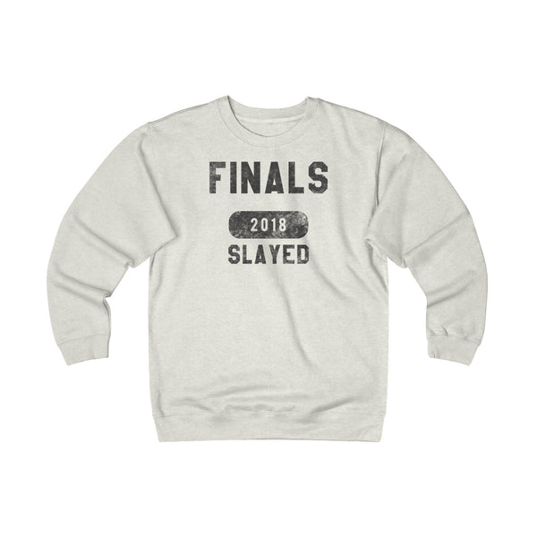 FINALS SLAYED 2018 Unisex Heavyweight Fleece Crew