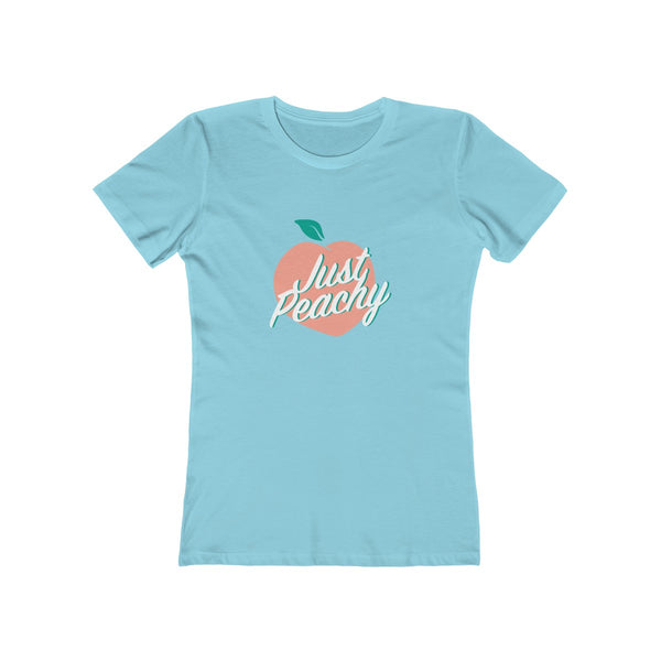Just Peachy Women's The Boyfriend Tee