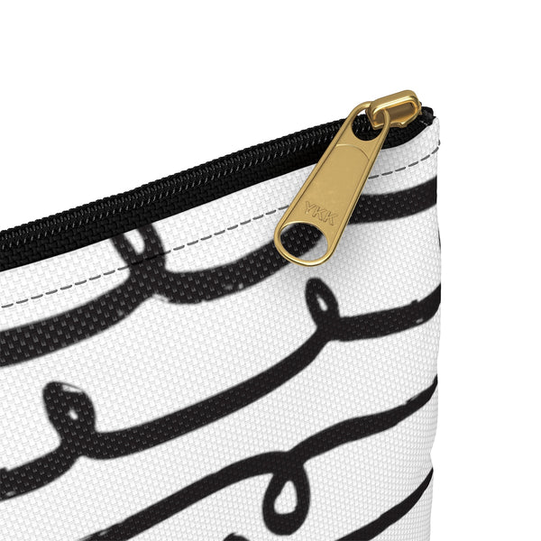 Squiggle Line Accessory Pouch