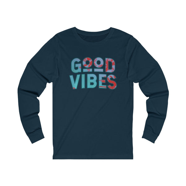 Good Vibes Cali Style Unisex Jersey Long Sleeve Tee