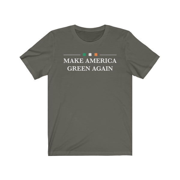 Make America Green Again! St. Patrick's Day Unisex Jersey Short Sleeve Tee