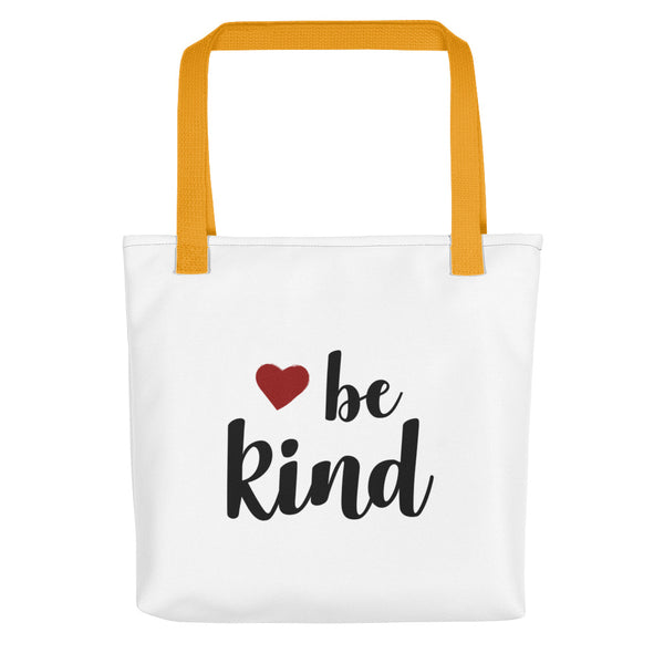 BE KIND Inspirational Heart Warming Tote bag