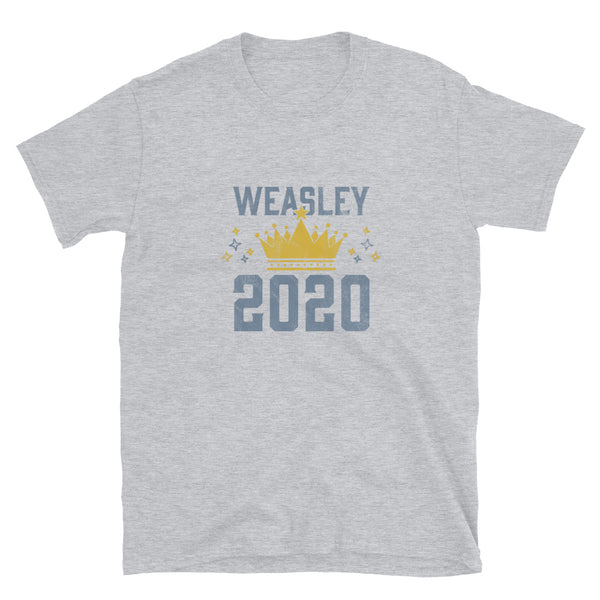 Weasley Is Our King 2020 Short-Sleeve Unisex T-Shirt