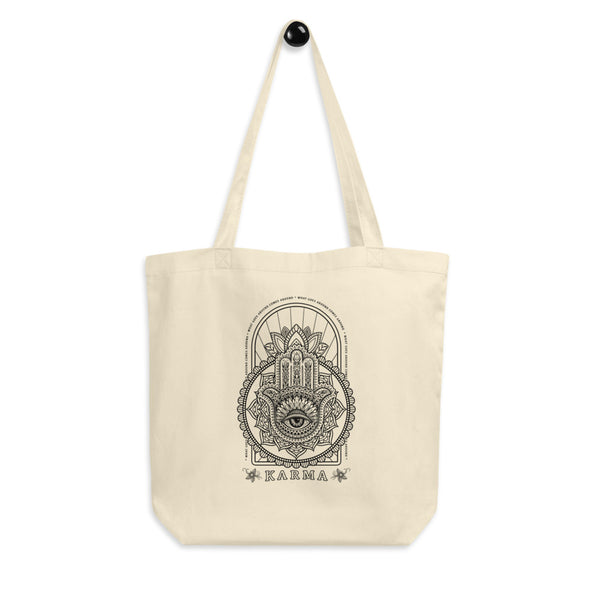 Karma - What Goes Around Comes Around Eco Tote Bag