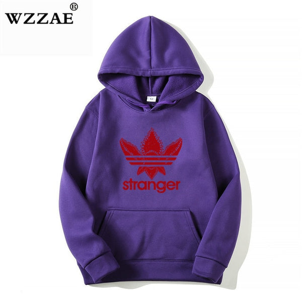 Stranger Things Cap Clothing Hooded Sweatshirt hoodies Men/Women Hip Hop Hoodies Plus Size Streetwear