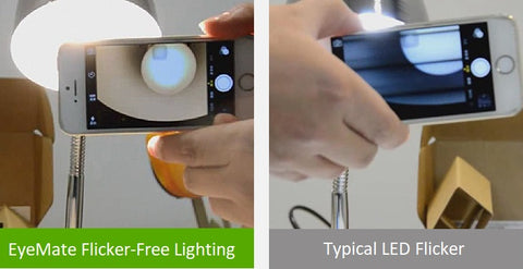 EyeMate flicker-free light