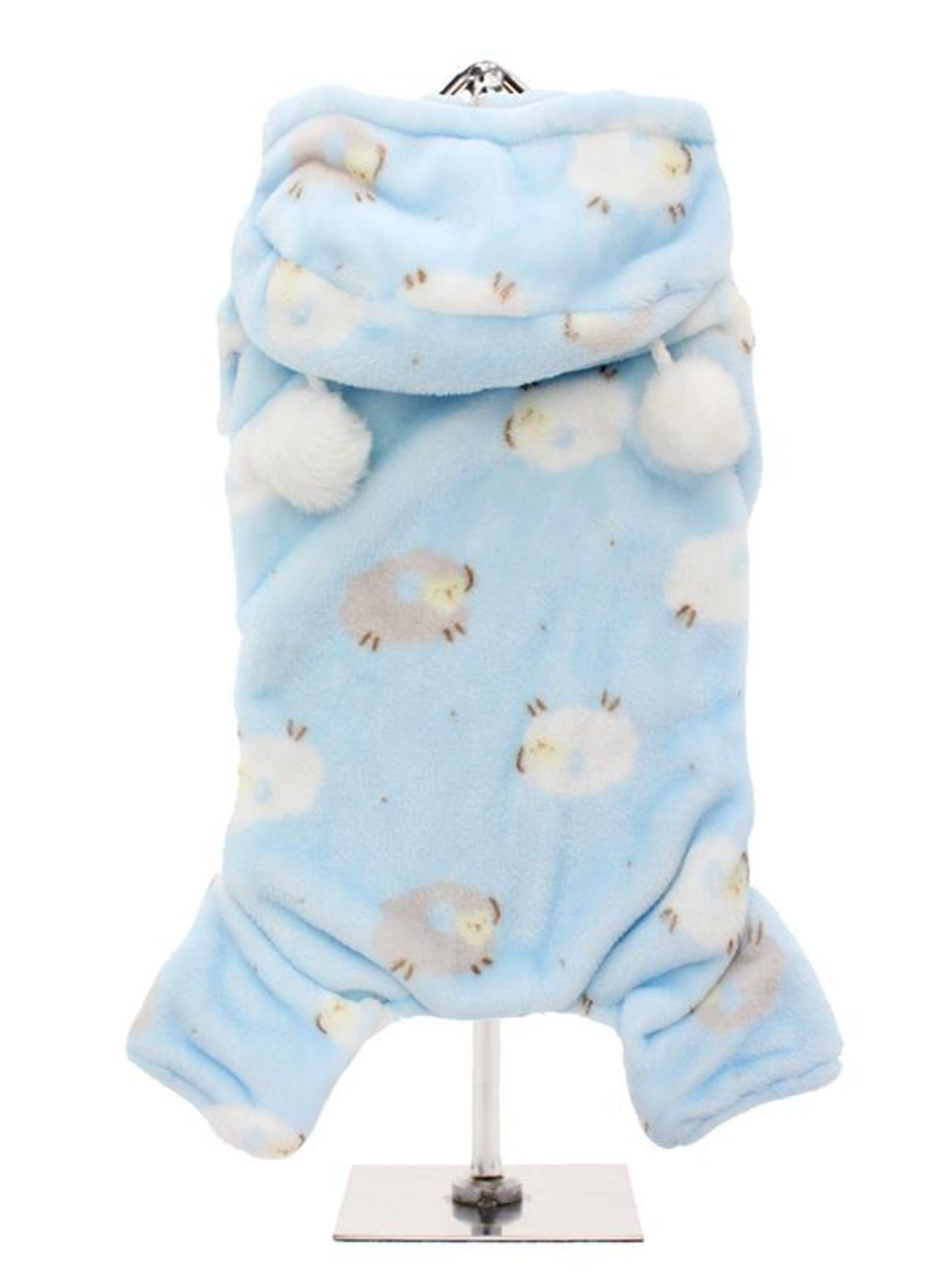Baby Blue Counting Sheep Onesie Pyjamas