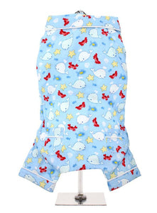 Blue Ocean Bedtime Dog Pyjamas