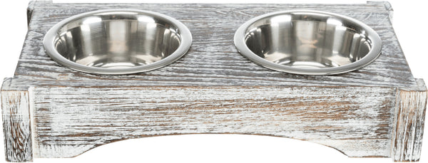 Bowl Set - Wood & Stainless Steel