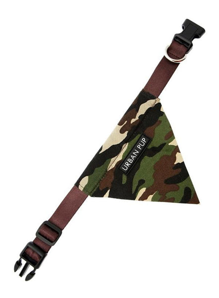 Camouflage Dog Bandana Collar