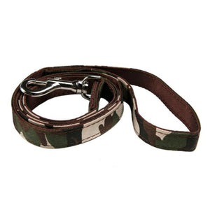 Camouflage Fabric Dog Lead - leash