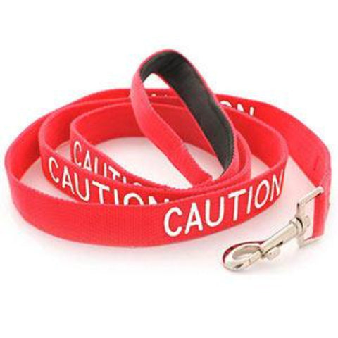 Caution - Warning Dog Lead