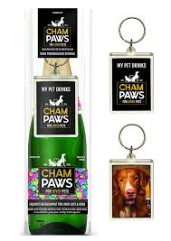 Champaws with Key Ring - Gift Set