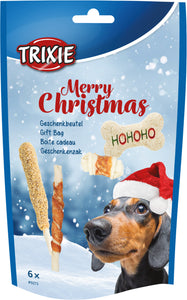 Christmas Dog Treats Gift Bag 6pcs