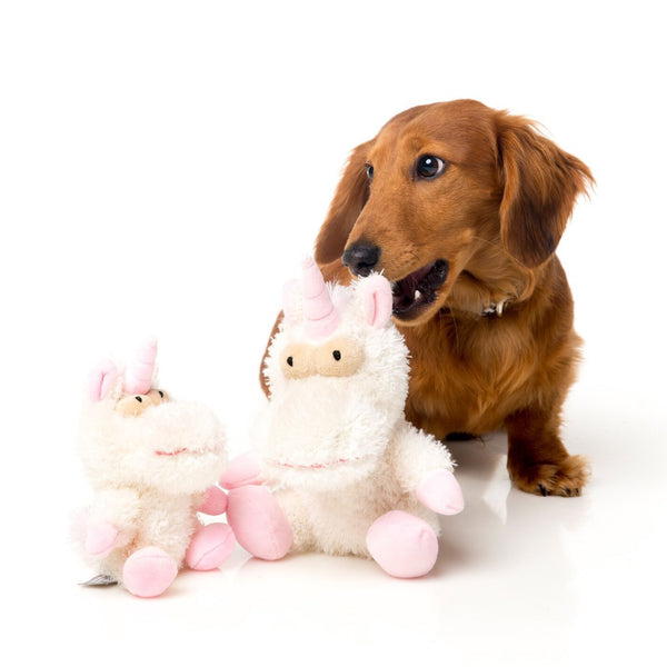 Electra the Unicorn - Plush Dog Toy