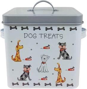 Faithful Friends Dog Treat Tin