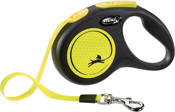 Flexi Neon Dog Lead