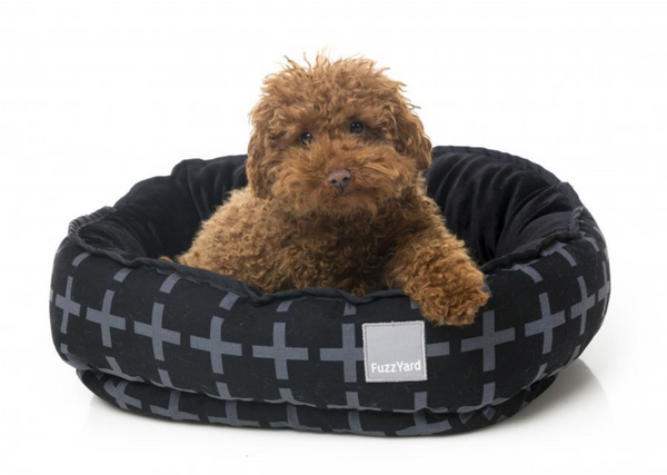 Fuzzyard Yeezy Reversible Bed - modelled by Dog