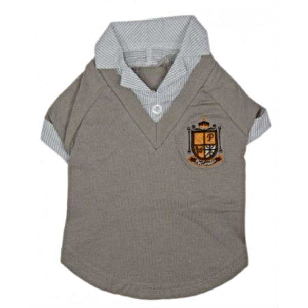 Grey Crest T-Shirt - (Priced to Clear)