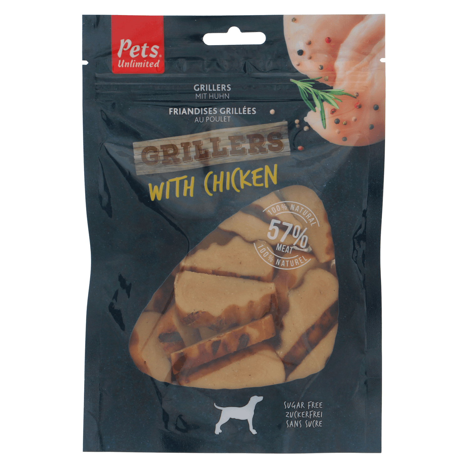 Grillers Chicken 100g - Dog Snacks