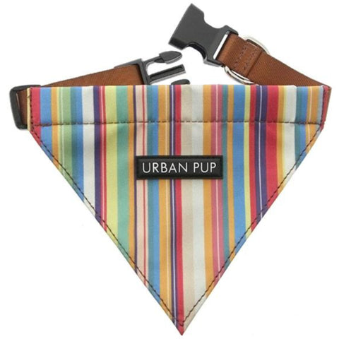 Henley Striped Dog Bandana