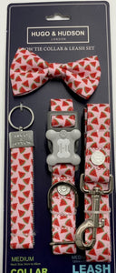 Pink Watermelon Dog Accessory Set
