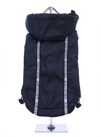 Rainstorm Waterproof Dog Coat - Ink Blue