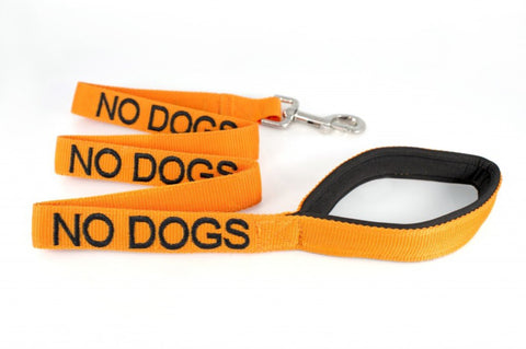 No Dogs - Warning Dog Lead