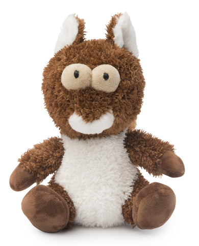 Nuts the Squirrel Plush Dog Toy