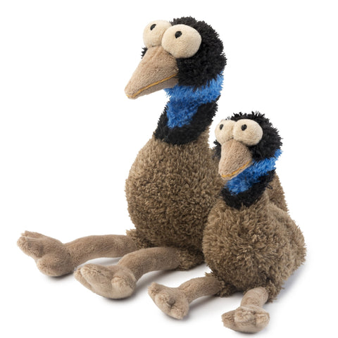 Oz The Emu Plush Dog Toy