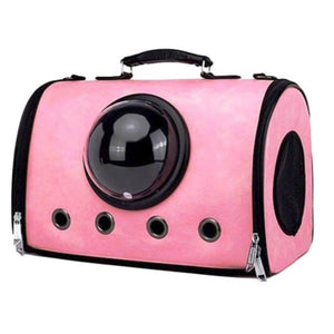 Petz-Aboard Shoulder Carry Portal Dog carrier - Pink