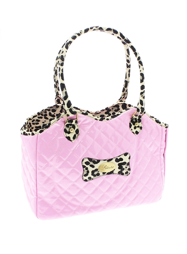 Patent Pink Dog Carrier