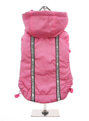 Rainstorm Waterproof Dog Coat - Pink