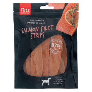 Salmon Filet Strips Large 150g - Dog Snacks