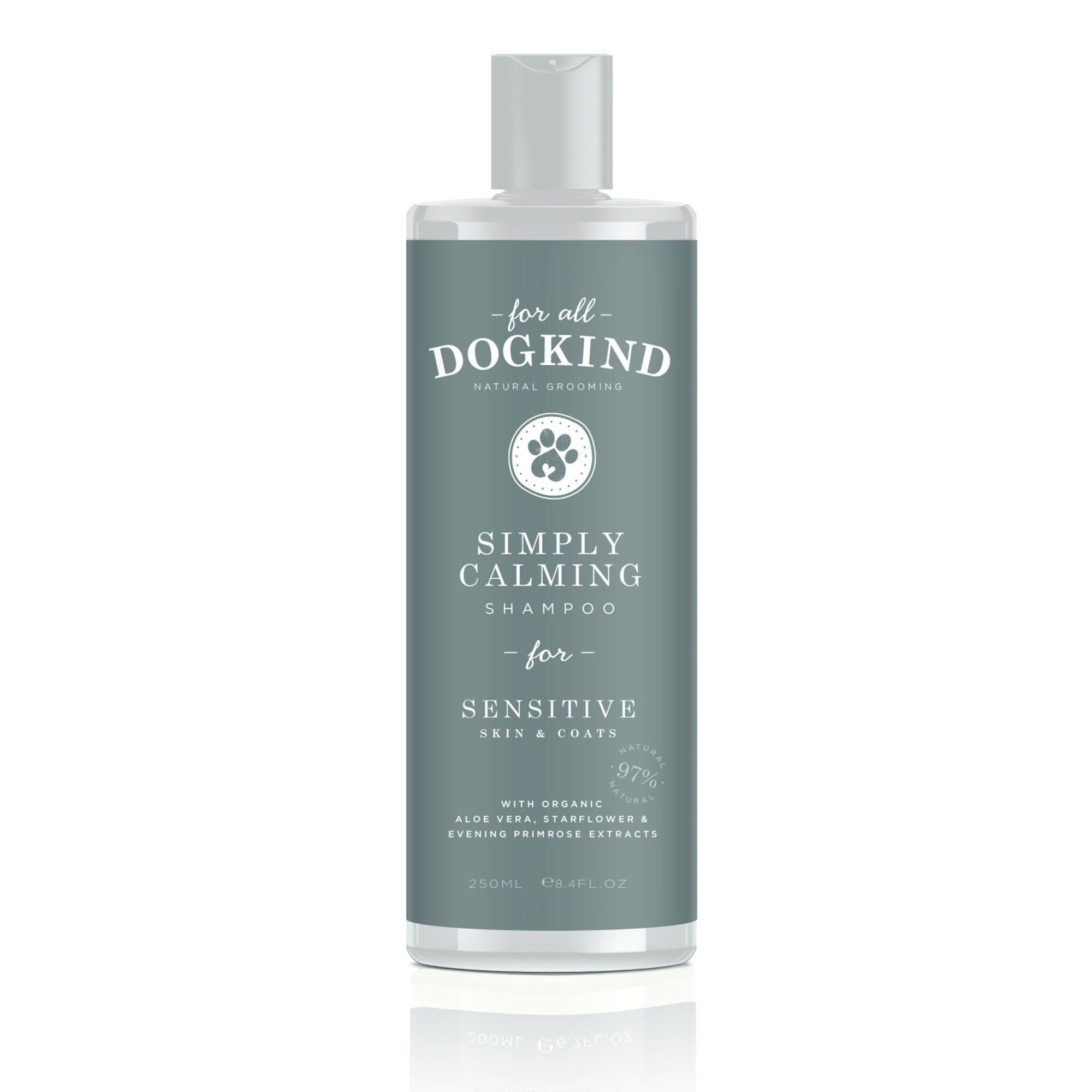 Simply Calming Dog Shampoo For Sensitive Skin and Coats By Dogkind