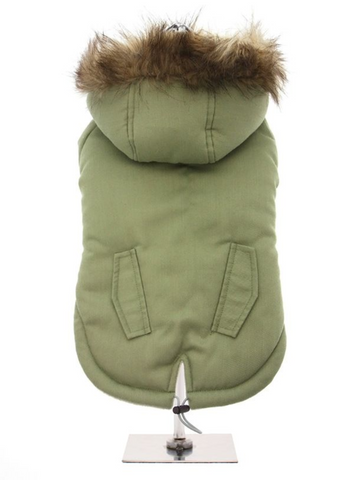 Mod Fishtail Parka - Dog Coat