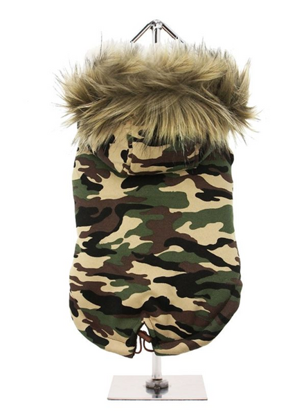 Fish Tail Parka Forest Camouflage
