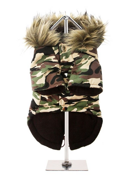 Fish Tail Parka Forest Camouflage - Reverse