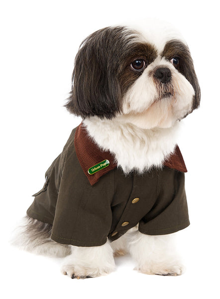 Woodland Country Dog Jacket - Modelled by Dog2