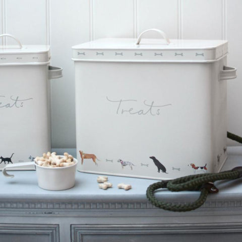 Woof Treats Tin - By Sophie Allport