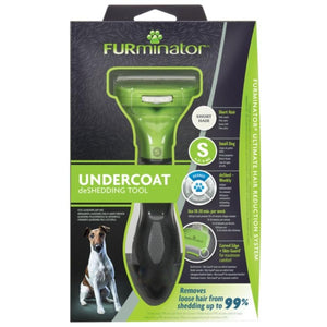 FURminator Undercoat De-Shedding Tool Small Dog Short Hair