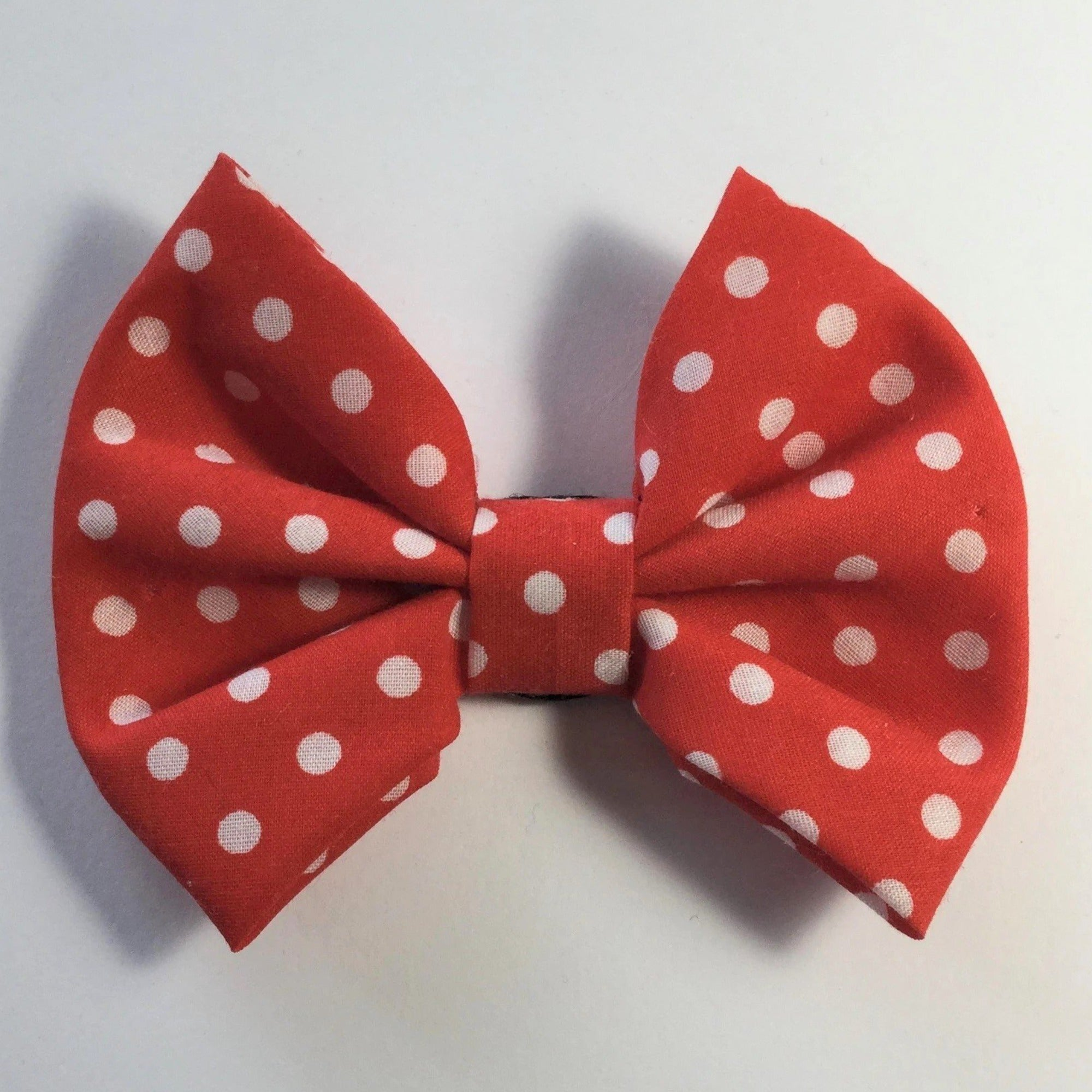 Red Polka Dot Bow