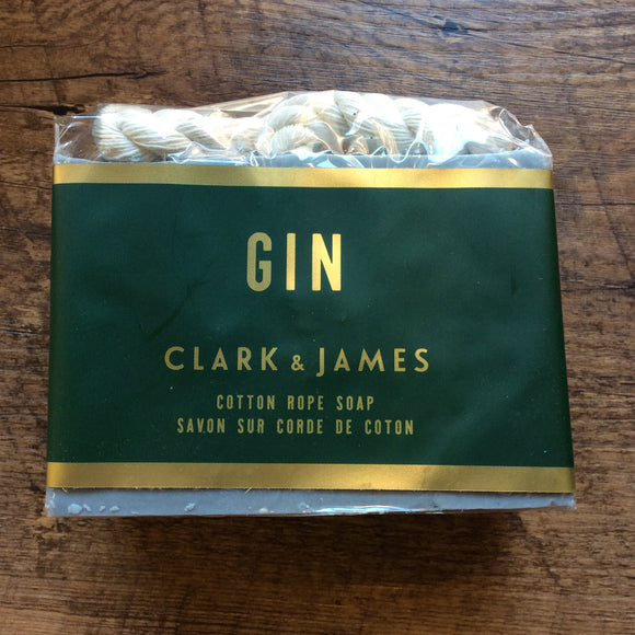 "Soap on a Rope Gin ""Clark & James """