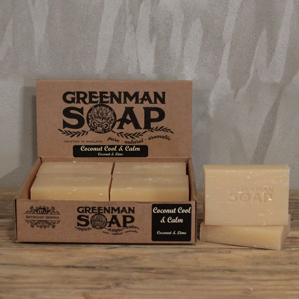 Greenman Soap Bar 100g - Coconut Cool & Calm