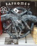 24.5cm Hold of Baphomet Hand Free Standing Plaque Pentagram Figurine