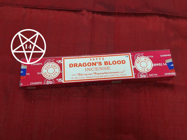 Satya Dragons Blood Incense Sticks