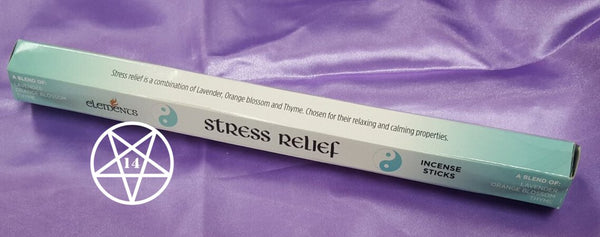 Stress Relief Incense Sticks Blend of Lavender Orange Blossom and Thyme