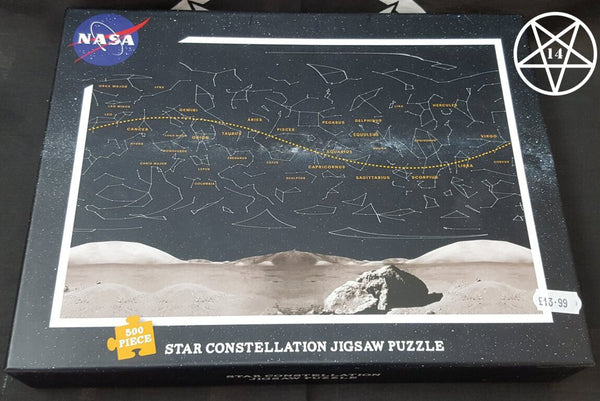 NASA Star Constellation Jigsaw Puzzle